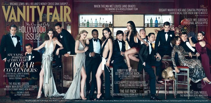 Vanity Fair Toasts the Best of Young Hollywood Like James, Ryan, Anne, and More