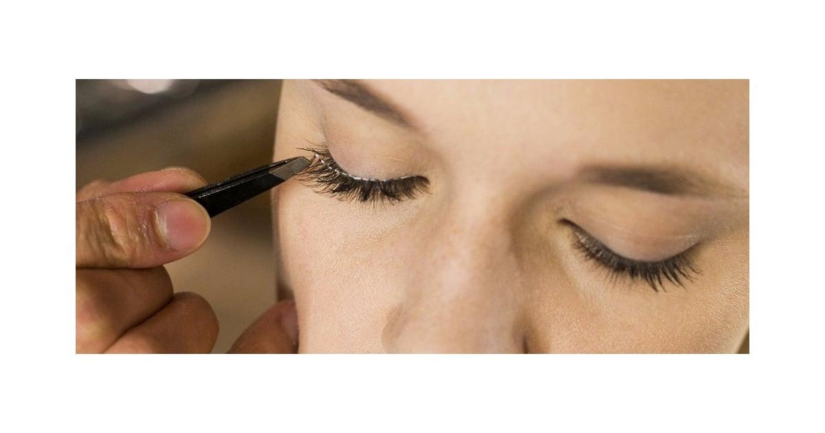 How To Apply Fake Eye Lashes Popsugar Beauty