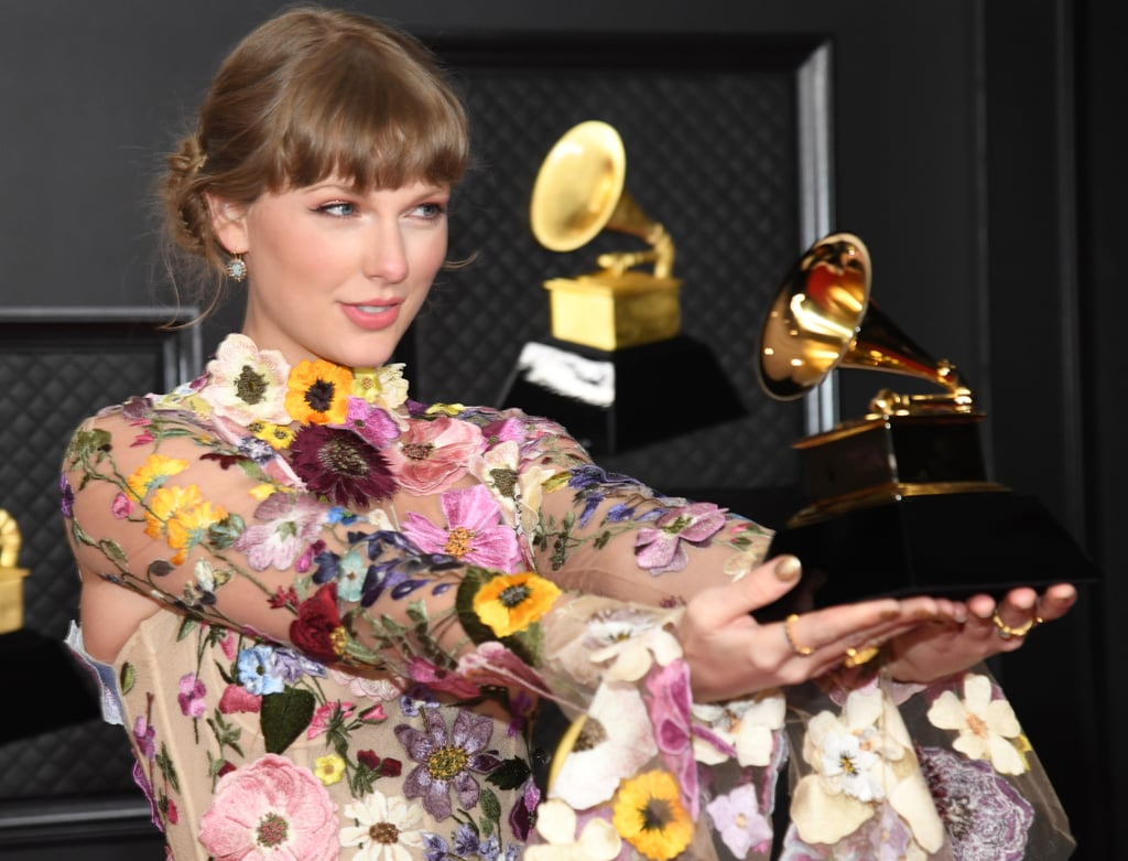 Taylor Swift at the Grammys 2021 Pictures