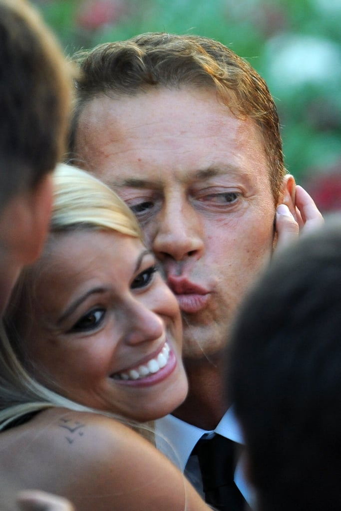 italian actor rocco siffredi kisses a fan at the tinker tailor venice film festival couple. Black Bedroom Furniture Sets. Home Design Ideas