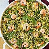 Pesto Pasta With Shrimp and Asparagus