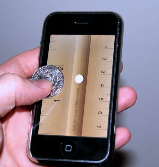 Geek Tip: Use Your iPhone As A Ruler