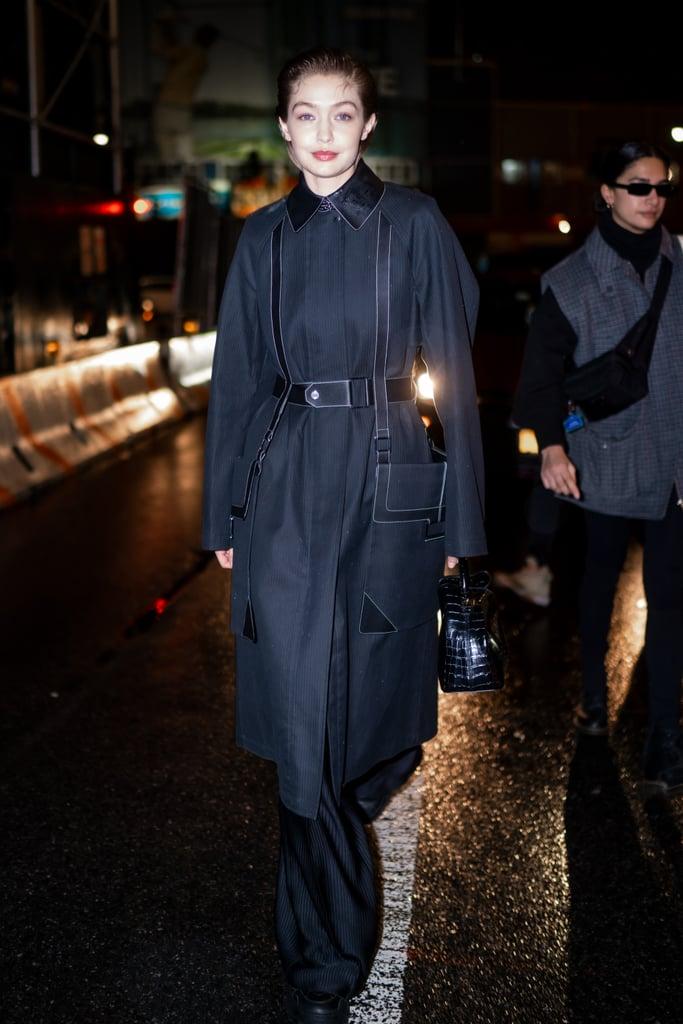 Gigi Hadid's Street Style at New York Fashion Week