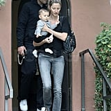 Pictures of Tom Brady, Gisele and Ben