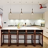 A sense of order pervades his Manhattan kitchen.