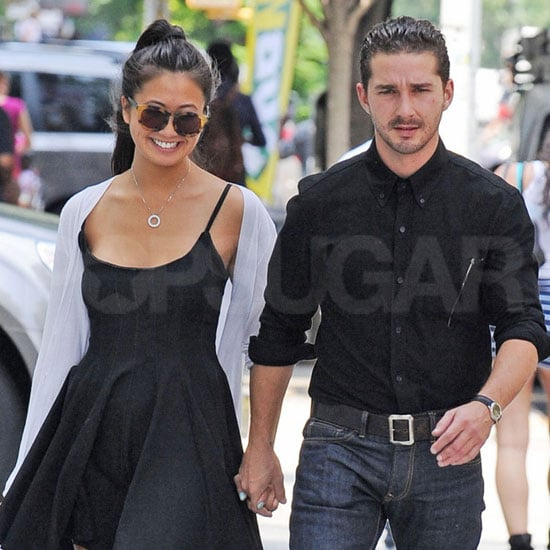 Shia LaBeouf and Girlfriend Karolyn Pho Pictures in NYC