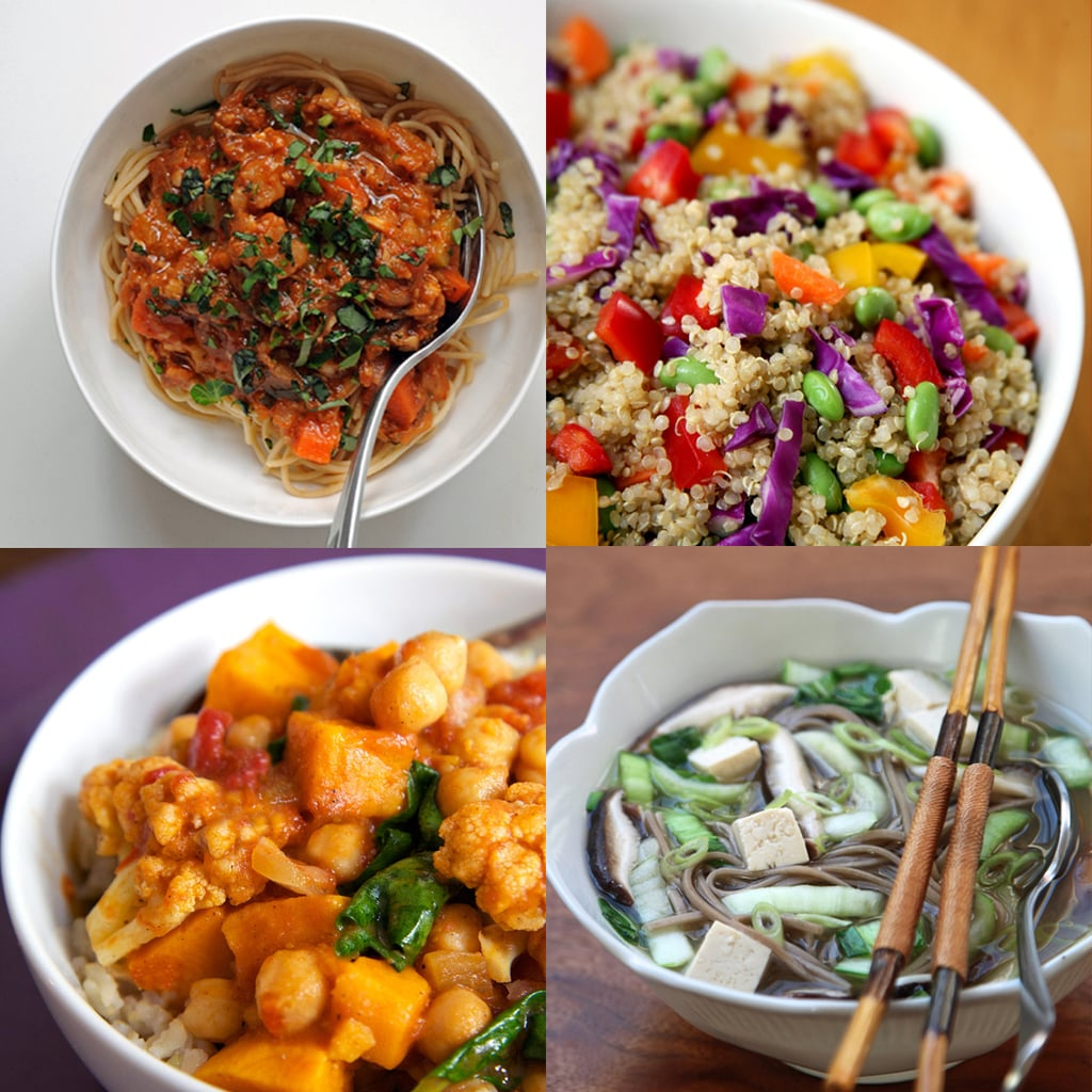 Healthy vegan dinner recipes popsugar fitness 15 healthy vegan dinner recipes you should add to your rotation forumfinder Choice Image