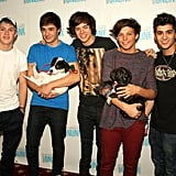 One Direction at Q102 Radio Station in Pennsylvania in 2012