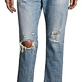 Rag & Bone Wicked Deconstructed Denim Jeans