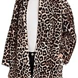 Sandro Boma Leopard-Print Fur Coat ($3,245)