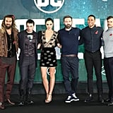 Justice League Cast Out in London November 2017