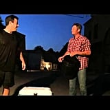 Adam Levine, Carson Daly, and Blake Shelton