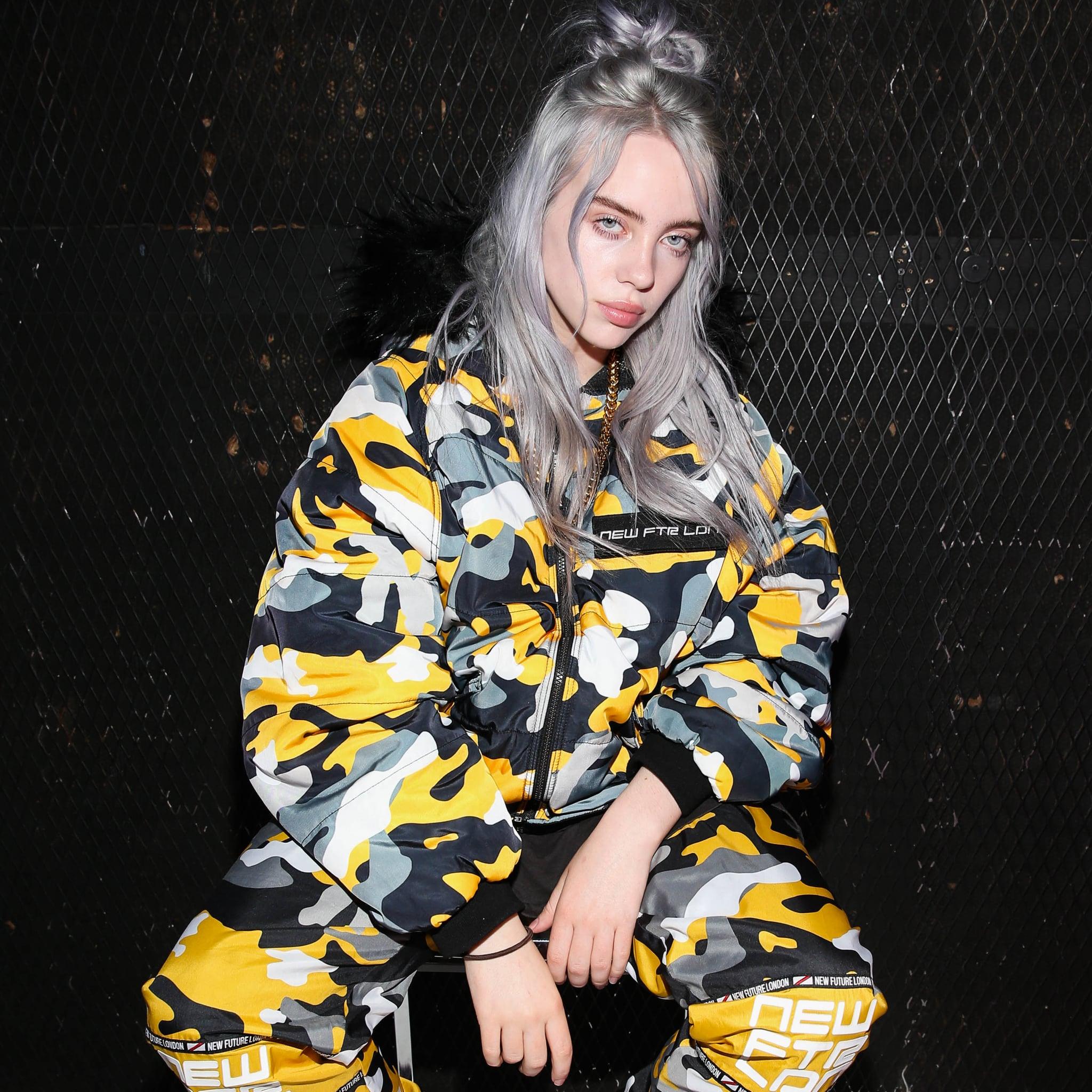 Billie Eilish Revealed Why She Wears Baggy Clothes Popsugar Fashion