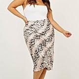 Showpo Creating Art Skirt in Snake Skin