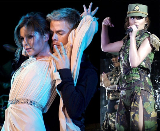 Pictures of Cheryl Cole and Derek Hough Dancing On Stage On Her Last UK Tourdate Supporting the Black Eyed Peas