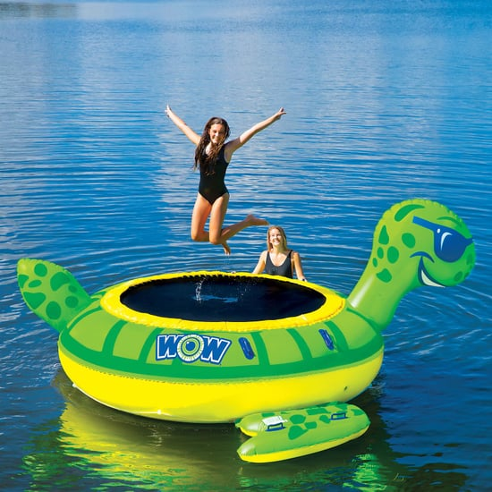 Sam's Club Inflatable Duck and Turtle Trampolines