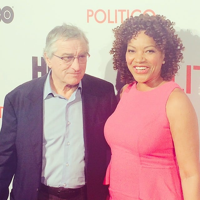 Robert De Niro and his wife, Grace Hightower, were in DC to premiere the new HBO documentary honoring his father, artist Robert De Niro Sr.
