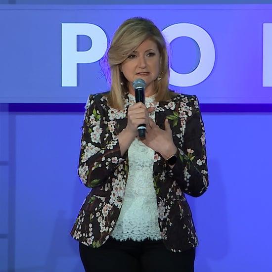 Arianna Huffington Talk Popsugar Playground