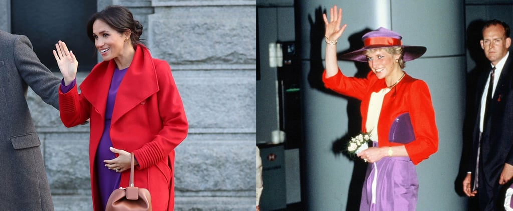 Meghan Markle Dressing Like Princess Diana Jan. 2019