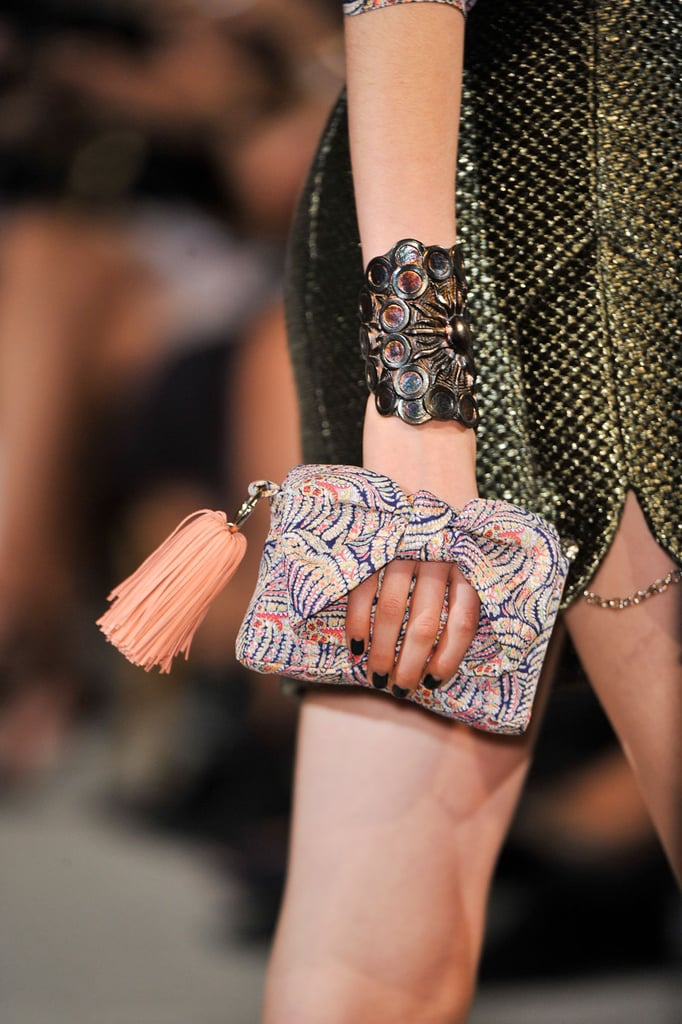 Handheld Clutch: Alexis Mabille Spring 2014