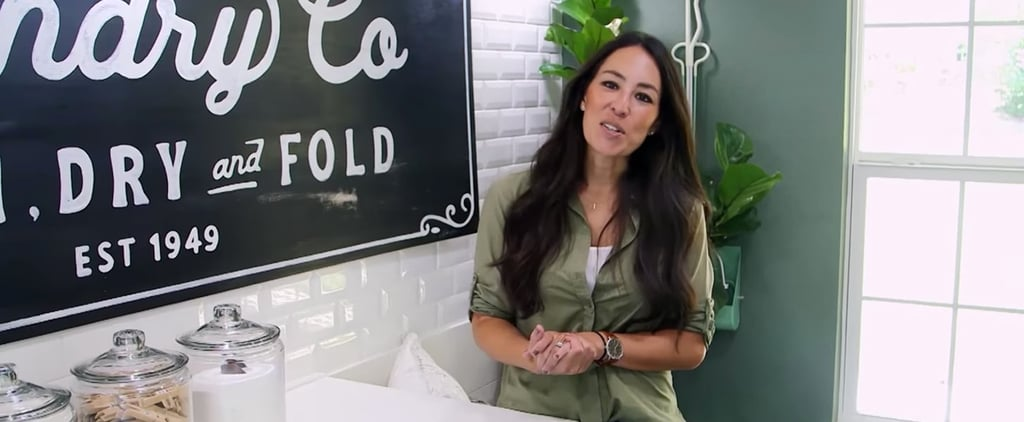 HGTV's Joanna Gaines Shares Her 3 Tips For an Enviably Organized Laundry Room