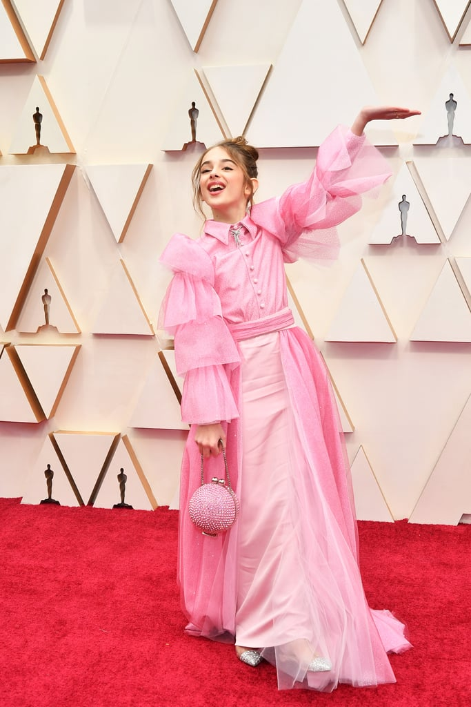 Julia Butters Wearing Christian Siriano at Oscars 2020