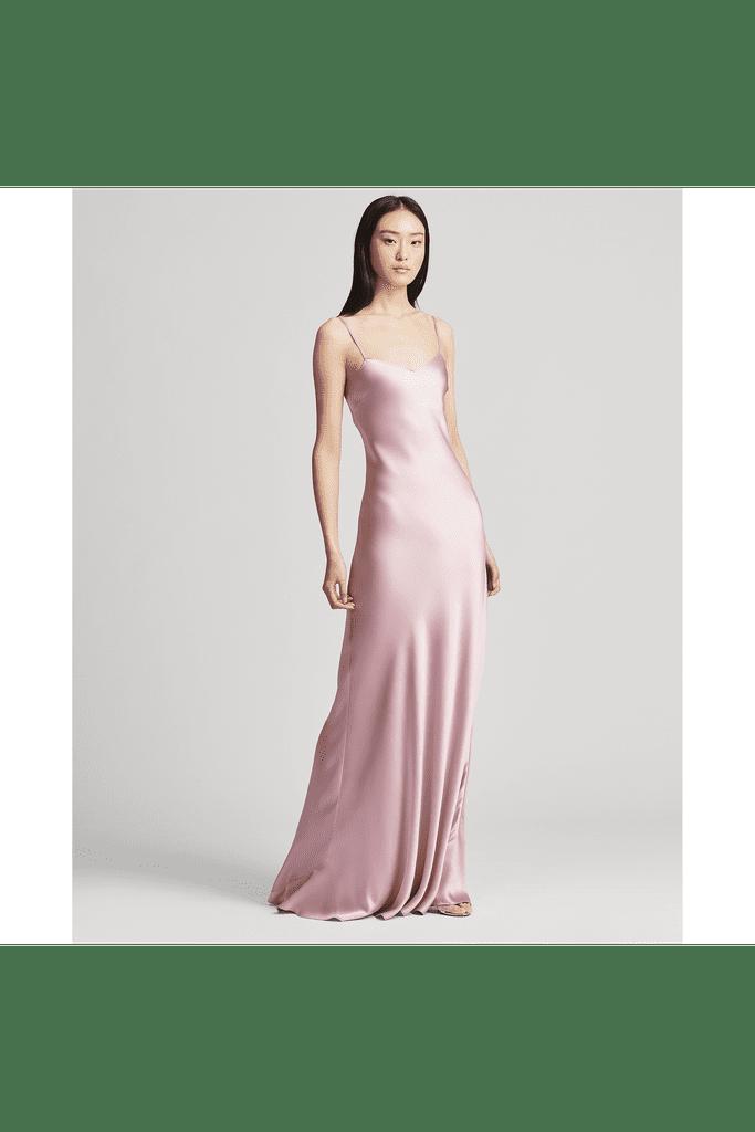 643ab0acb52 Shop It  Ralph Lauren Collection Satin Gown