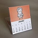 Star Wars-Inspired 2015 Desk Calendar ($16)