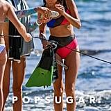 Nina Dobrev Bikini Pictures in Hawaii June 2017