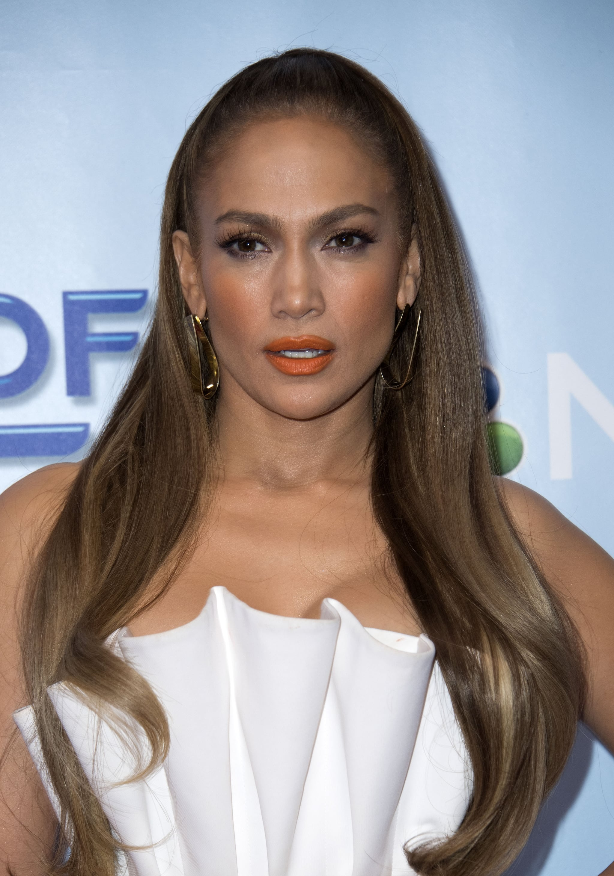 Singer and judge Jennifer Lopez attends the NBC Universal