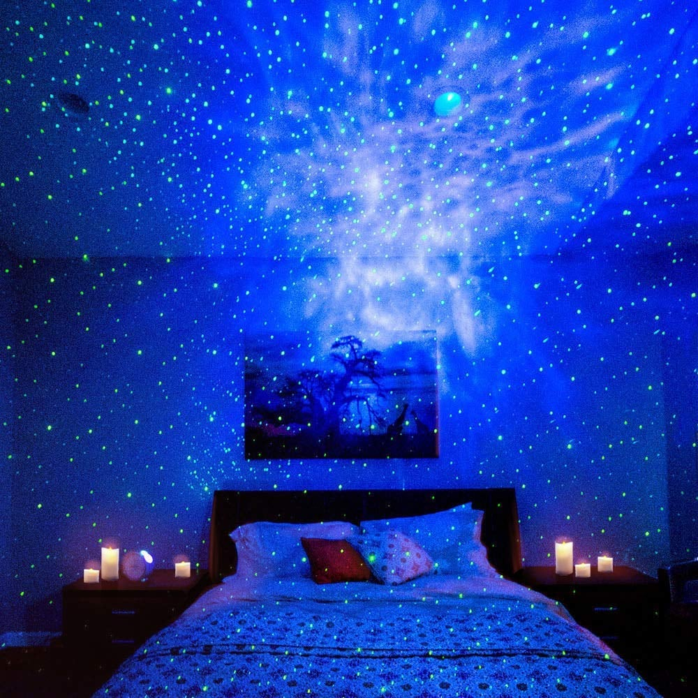 This Projector Brings the Night Sky Into Your Bedroom