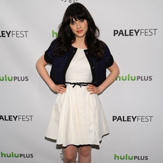 Zooey Deschanel Talking About New Girl Video at Paleyfest