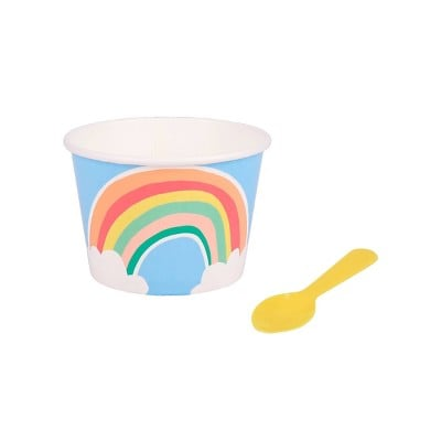 Sun Squad 10ct Rainbow Cup with Spoon
