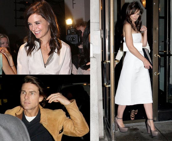 Pictures of Katie Holmes in New York