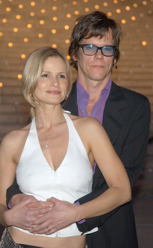 Kevin and Kyra couldn't keep their hands to themselves as they attended the 2003 Tribeca Film Festival.