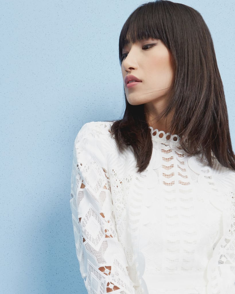 Ted Baker Dalmy Scalloped Lace Jacket (£195)