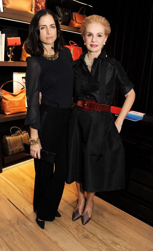 Carolina Herrera Baez and Carolina Herrera