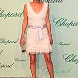 Nicky Hilton looked like a lovely lady at the Chopard 150th anniversary party.