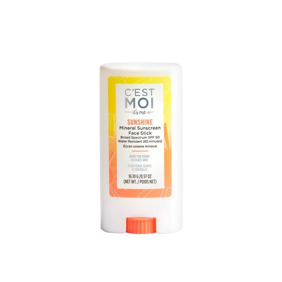 C'est Moi Sunshine Mineral Sunscreen Face Stick SPF 50