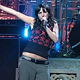 Ashlee Simpson got caught lip-syncing on <b>Saturday Night Live</b>.