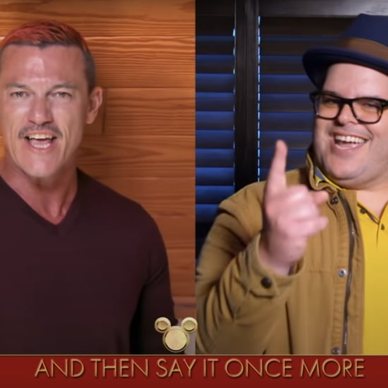 Watch Luke Evans and Josh Gad's Disney Singalong Performance