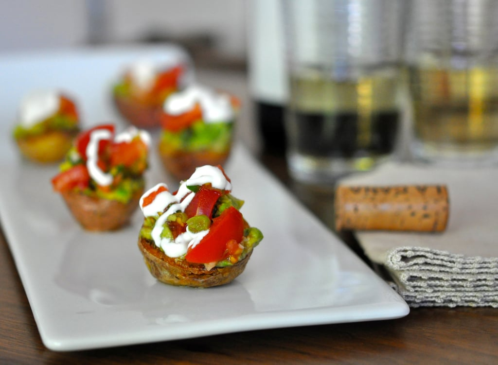 Red Potatoes Stuffed With Tomato-Avocado Salsa
