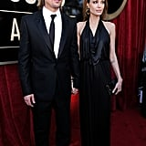 Angelina Jolie and Brad Pitt at the SAGs.
