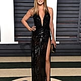 Jennifer Aniston in Versace at the 2017 Oscars