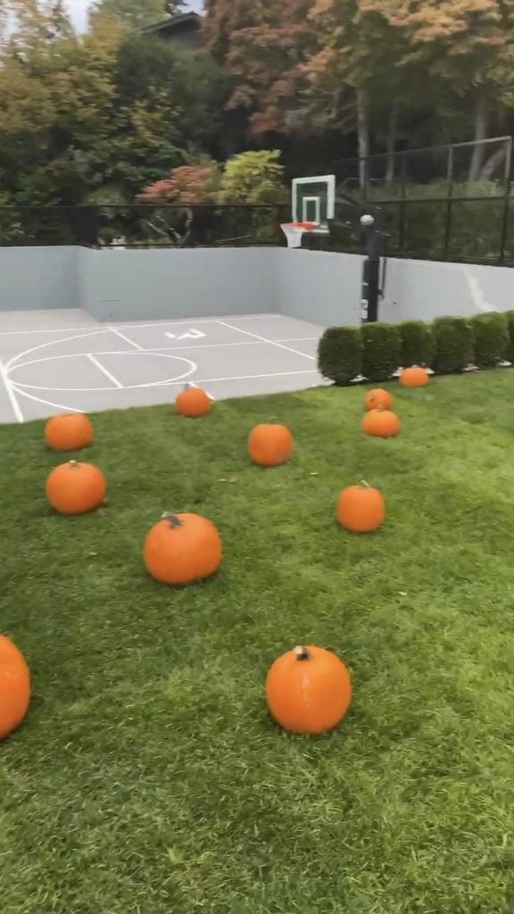 See Ciara and Russell Wilson's Family Backyard Pumpkin Patch