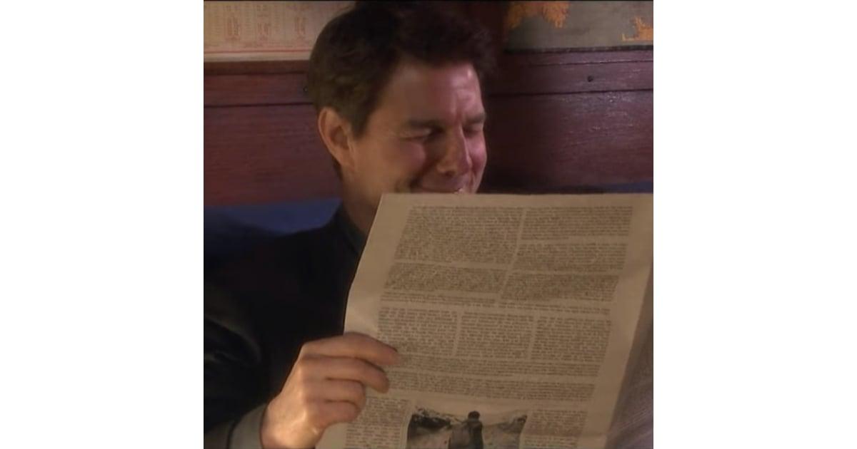 Jimmy Fallon and Tom Cruise Mad Lib Theater Video 2018 | POPSUGAR Celebrity