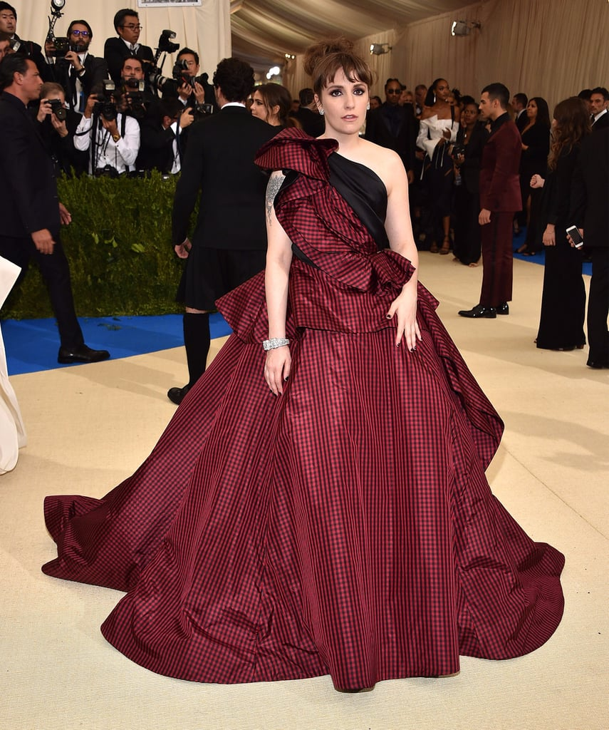 Image result for Lena Dunham met gala 2017