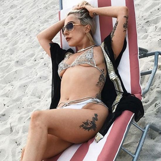 Lady Gaga Bikini Pictures