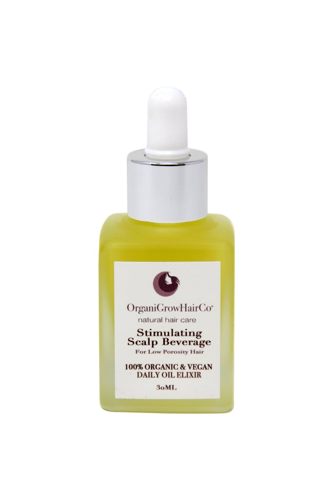 How to support OrganiGrow now: OrganiGrow Stimulating Scalp Beverage With Black Seed Oil ($21)