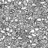 Get the coloring page: monsters